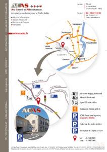 Plan d'accès ACAS